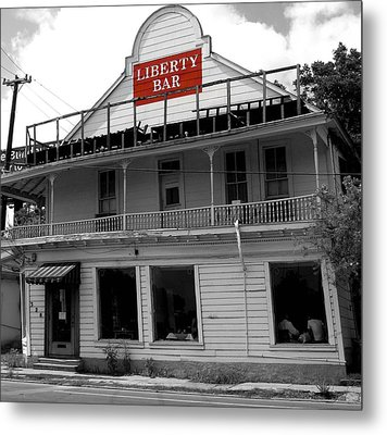 Liberty Bar In San Antonio Metal Print