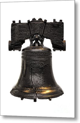 Liberty Bell Metal Print by Olivier Le Queinec