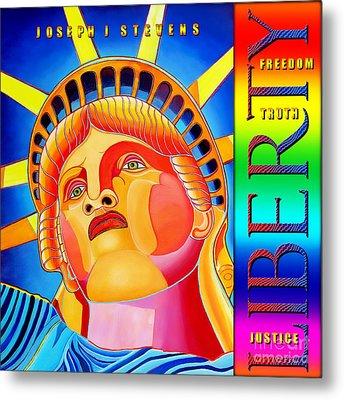 Liberty  Metal Print by Joseph J Stevens