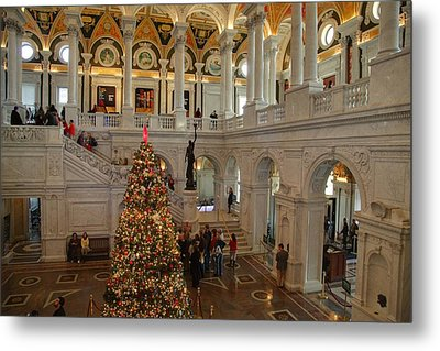 Library Of Congress - Washington Dc - 011315 Metal Print by DC Photographer