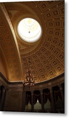 Library Of Congress - Washington Dc - 01133 Metal Print by DC Photographer