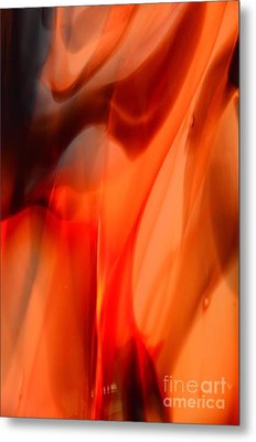 Licking Flame Metal Print by Lauren Leigh Hunter Fine Art Photography