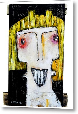 Life As Human Number Thirteen Metal Print by Mark M  Mellon