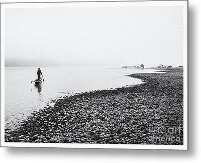 Life At Mekong River Metal Print by Setsiri Silapasuwanchai