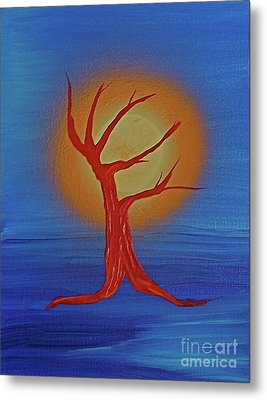 Metal Print featuring the painting Life Blood By Jrr by First Star Art