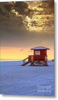 Life Guard 1 Metal Print by Marvin Spates