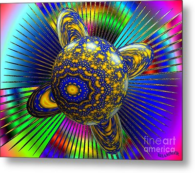 Life In A Bottle Metal Print by Bobby Hammerstone