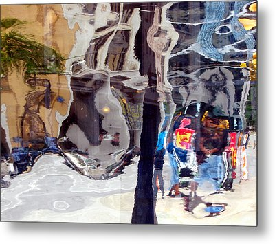 Life In A Bubble Metal Print