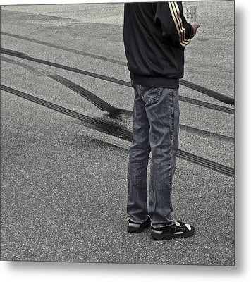 Life In The Fast Lane Metal Print by Odd Jeppesen