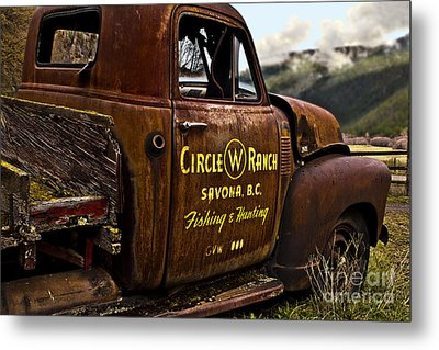 Metal Print featuring the photograph Life In The Past Lane by Sandi Mikuse