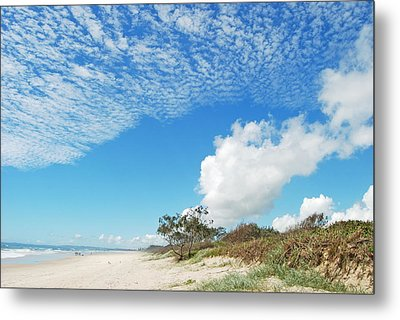 Metal Print featuring the photograph Life Is A Beach by Ankya Klay