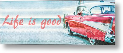 Life Is Good Metal Print by Edward Fielding