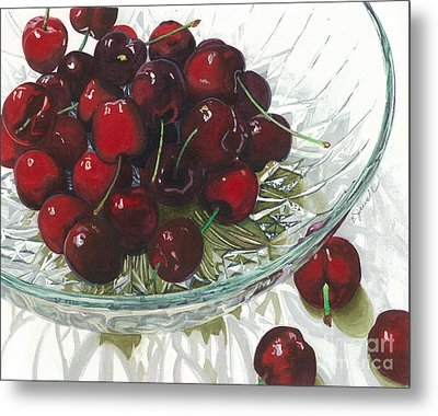 Life Is Just A - - - Metal Print by Barbara Jewell