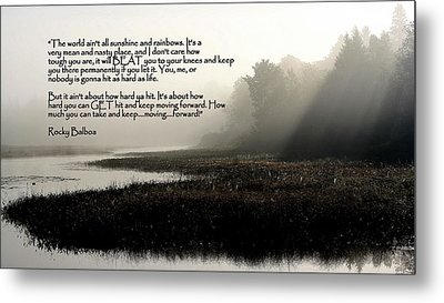 Life Lessons Metal Print by Greg DeBeck