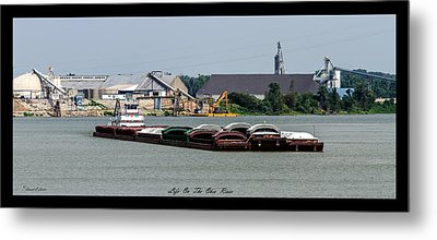 Life On The Ohio River 2 Metal Print by David Lester