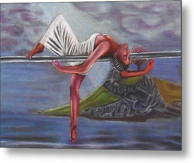 Life Requires Balance Metal Print by D Rogale