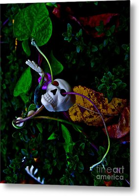 Life Through Death Metal Print