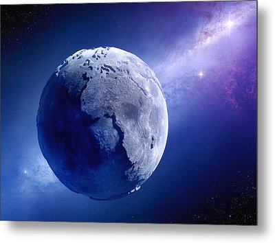 Lifeless Earth Metal Print by Johan Swanepoel