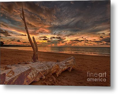 Life's A Beach Metal Print by Pete Reynolds