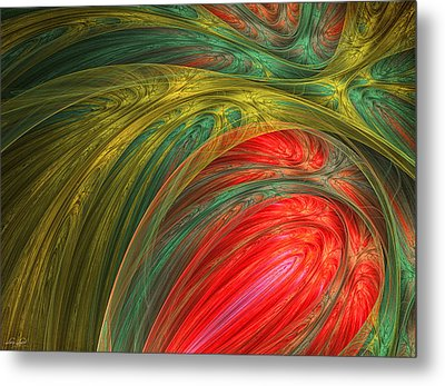 Life's Colors Metal Print by Lourry Legarde