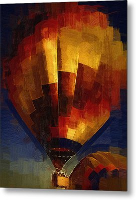 Metal Print featuring the digital art Lift by Kirt Tisdale