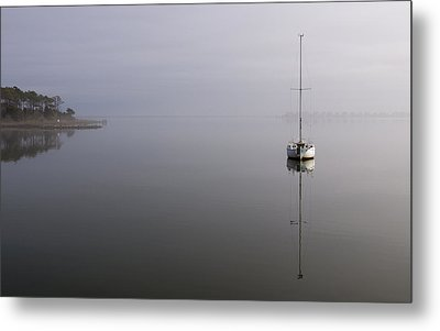 Lifting Fog Metal Print by Gregg Southard
