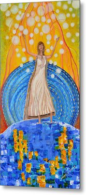 Lifting The Veil Metal Print by Cassie Sears