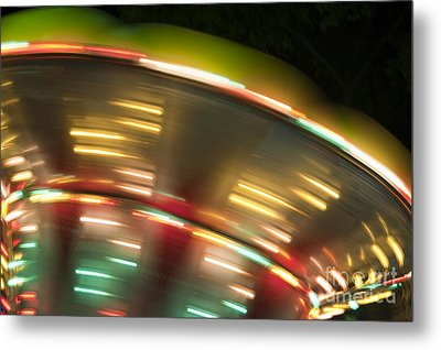 Light Abstract 9 Metal Print by Tony Cordoza