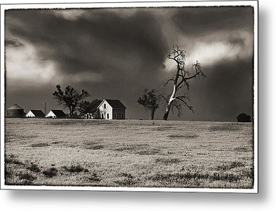 Metal Print featuring the photograph Light After The Storm by James Steele