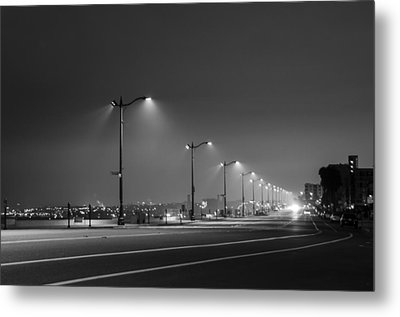 Metal Print featuring the photograph Light And Lines by Kevin Bergen