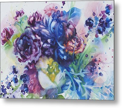 Light And Sound Metal Print by Kelly Johnson