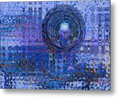 Light At The End Of The Tunnel Metal Print by Jack Zulli