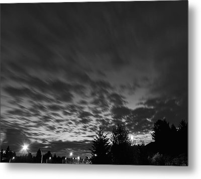 Dawn Over The Highway Metal Print