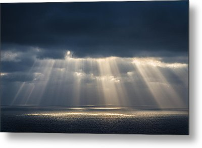 Light Dancing On Water Metal Print by Alexander Kunz