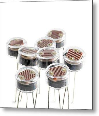 Light Dependent Resistors Metal Print