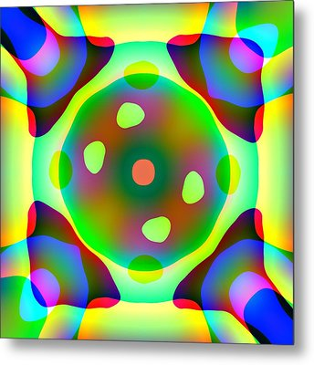 Light Emitting Diode Metal Print by Charles Ragsdale
