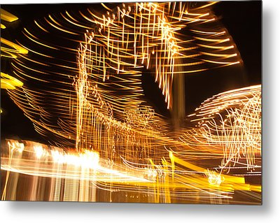 Metal Print featuring the photograph Light Fandango by Terri Harper