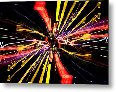 Light Fantastic 04 Metal Print by Natalie Kinnear
