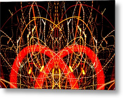 Light Fantastic 17 Metal Print by Natalie Kinnear