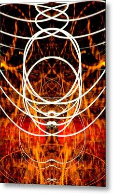 Light Fantastic 31 Metal Print by Natalie Kinnear