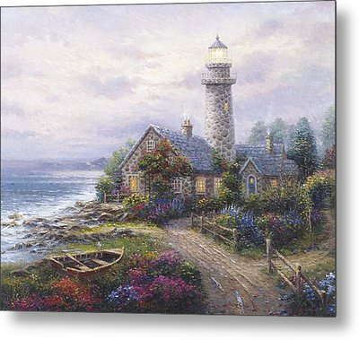 Light House Metal Print by Ghambaro