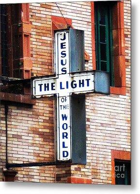 Light In The City Metal Print