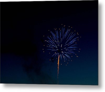 Light In The Night Metal Print by Megan Tangeman