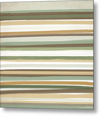 Light Mocha Metal Print by Lourry Legarde
