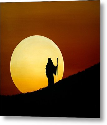 Light My Way 3 Metal Print