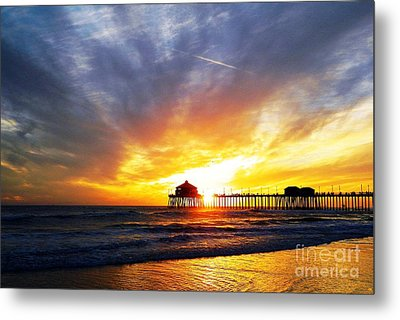 Light My Way Metal Print by Everette McMahan jr