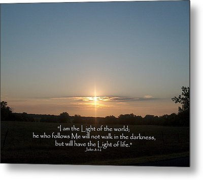 Light Of The World Metal Print by Robyn Stacey