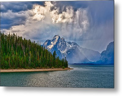 Light On Moran Metal Print by Greg Norrell