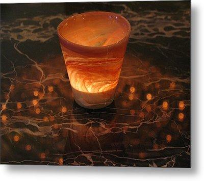 Light Reflection Metal Print