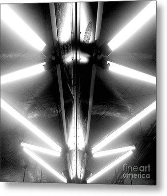 Light Sabers Metal Print